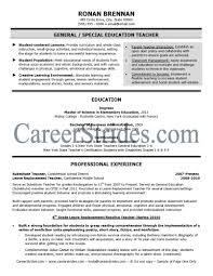 Resume Reading Teacher Cover Letter Sample Contact Us Resume For