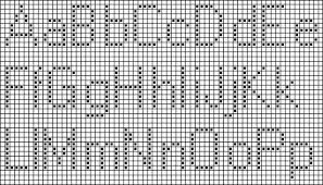 Cross Stitch Pattern Generator Fascinating 48 Best Simple Cross Stitch Alphabet Patterns Ideas