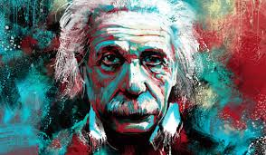 happy birthday albert einstein by techgnotic on