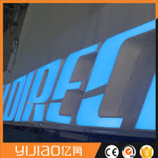 lighted letter signs. LED Advertising Signs Factory Customized Channel Letters Lighted Storefront Letter T