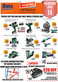 power tools for sale. hitachi one tool day sale bridgend power tools for