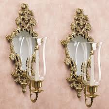 athea mirrored brass wall sconce pair within measurements 2000 x 2000