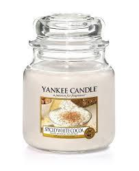 <b>Свеча ароматическая</b> Yankee Candle Белое какао со специями ...