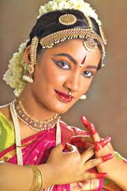 every indian clical dance encourages make up