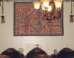 artisan handmade wall hanging from rajasthan india