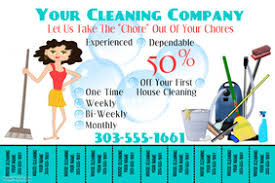 House Cleaning Flyers Examples