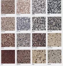 Epoxy Garage Floor Color Chart Modern Epoxy Floor Paint Color M I Coating Metro Detroit