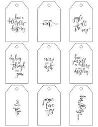 Christmas Gift Labels Templates Word Free Christmas Gift Tag Templates For Word Loveandrespect Us