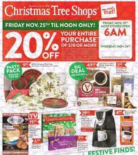 Christmas Tree Shops And That  Home  FacebookThe Christmas Tree Store Flyer