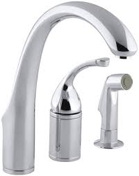 Kitchen Sink Faucets Reviews Kitchen Faucets Touch Kitchen Faucet With Kohler K 10430 Cp