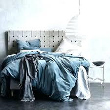 blue velvet duvet cover king creative brown crushed