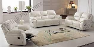 italian leather reclining sofa with