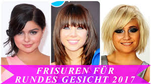 Frisuren F R Rundes Gesicht 2017 Youtube
