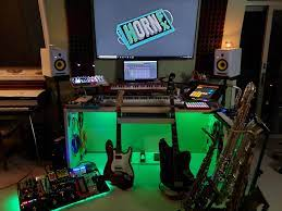 This is a guest post. Music Production Megastation Home Studio Battlestations