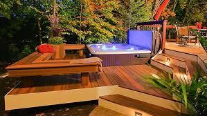 hot tub deck. Fiberon-horizon-ipe-hottub-blog Hot Tub Deck Fiberon