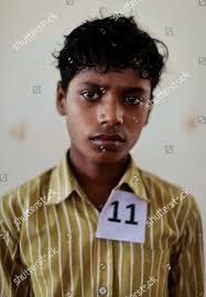 Frayer Boy Young Indian Bonded Child Laborer Monu 15 Editorial Stock