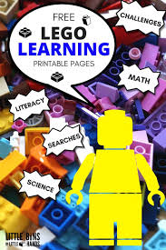 Legos For Free Lego Learning Pages Free Printables For Kids