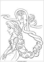 Coloriage De Princesse Disney Rebelle Collection Coloriage En