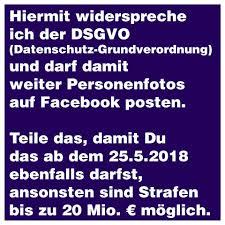 Dsgvo Was Facebook User Beachten Müssen Und Was Unsinn Ist