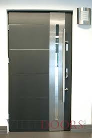 front double doors with glass medium size of fiberglass entry commercial hollow metal exterior residential without