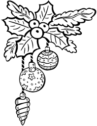 Small Picture Christmas Ornaments coloring page Free Printable Coloring Pages
