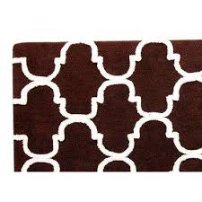 dark brown bath mats