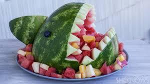watermelon fruit salad bowl. Exellent Watermelon Pin Watermelon Shark Bowl Fruit Salad  On Salad Bowl
