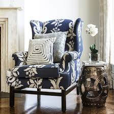 Transitional Style Living Room Furniture A Classic Wingback Chair With Transitional Style The Cabot Bay