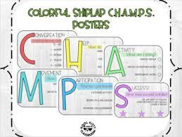 Kool Chart Colorful Shiplap Champs Chart