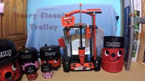 henry cleaning trolley a fun toy