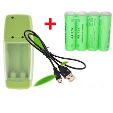 SORAVESS 8PCS 1.5V 2000mAh Rechargeable Battery Alkaline ...