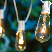 Mainstays 100ct Warm White Led Lights For Sale Better Homes And Gardens Glass Edison String