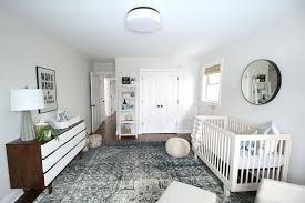 yellow gray nursery rug area grey baby how to choose a for the project bedrooms cool neutral reveal sophisticated boys