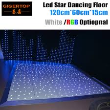 Us 100 0 Design In Great Britain 120cm X 60cm Led Dance Floor Panel Ce Rohs Dancing Floor Stage Light White Star Shinning Wireless Remote In Stage