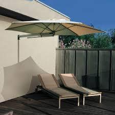 wall mounted patio umbrella aluminum polyolefin orientable p4