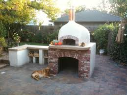 pizza oven outdoor outdoor dome roof wood fired pizza ovens eclectic patio san