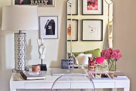 cute office decor ideas. Pin White Office With Mirror Cute Decor Ideas C