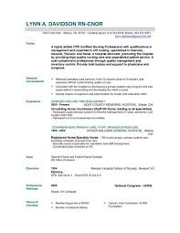 Resume Format For Nurses Inspiration Nursing Resume Format Lezincdc