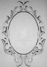 Oval Frame Tattoo Design Oval Frame Tattoo Design R Nongzico