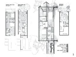 row housing plans modern