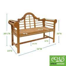 achla designs 54 in w natural oil