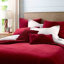 48 best *Bedding > Quilts & Quilt Sets* images on Pinterest ... & Atwood Velvet Red Quilt & Sham Adamdwight.com