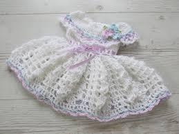 Crochet Baby Dress Pattern Custom Design Inspiration
