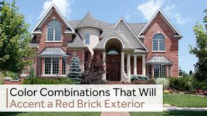 Image Brick Ranch Atlanta Painting Company Color Combinations That Will Accent Red Brick Exterior