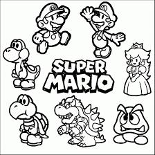 25 Bladeren Mario Bros Kleurplaat Mandala Kleurplaat Voor Kinderen