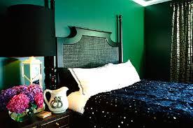 Superb View In Gallery Deep Emerald Bedroom With Jewel Tones