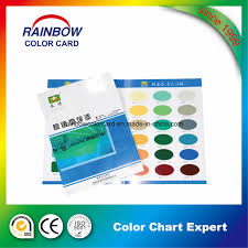 Hot Item Customized Design Colour Chart With Paint Color Shade