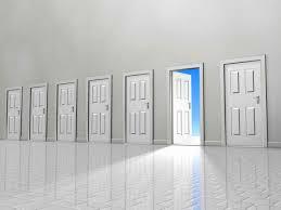 many open doors. Modren Open Intended Many Open Doors
