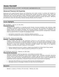 Financial Advisor Resume Examples 53 Images Financial Advisor