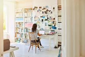free home office. Pregnant Woman Working At Home Stock Photo Free Office T